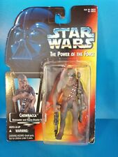 STAR WARS Chewbacca Red Card The Power Of The Force 1995 Kenner BOXED MINT
