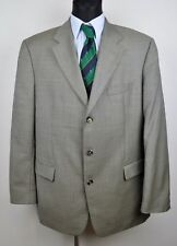 HUGO BOSS Grey Textured Men's Wool Blazer UK 46 Jacket Coat Suit 56 Eur Sakko Gr
