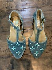 Joyfolie Girls Natalia In Azure Blue Shoes Size 13