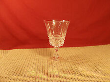 Cristal d'Arques Crystal Tuilleries Villandry Wine Goblet 5 1/4""