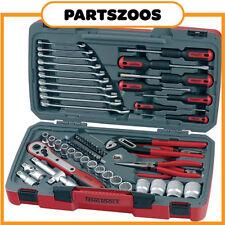 Teng Tools 68 Piece Kit Spanners Sockets Screwdrivers Pliers Ratchet T1268