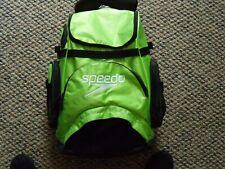 Pre Owned Speedo Teamsters 35L Swim Bag Neon Green