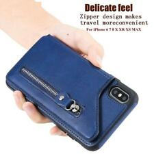 Mobile Wallet Flip Card Holder Leather Case iPhone XS Max X XS XR 6 7 8 6S Plus
