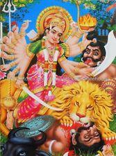 indoor wall art decor warrior goddess Durga paper poster