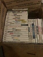 Xbox , Wii , xbox 360 video game lot 31 titles in all Used condition