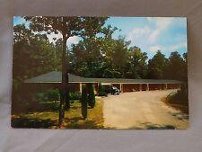 Vintage Postcard: Choate's Modern Motel, Dalton Georgia