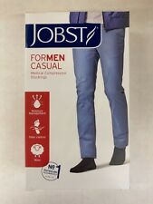 Jobst 113150 For Men Casual Navy 15-20 mmHg Large Knee CT Compression Stockings