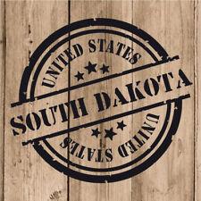 Vinilo de Corte South Dakota Pegatina Dakota del Sur USA United States 10 cm