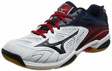 Mizuno badminton shoes Wave Fang SS2 wide 14 white navy 27.0 red F/S w/Tracking#