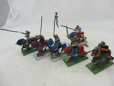 Warhammer Bretonnia Knights Errant metal riders painted army lot oop