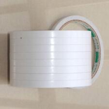 8mm 5 Rouleaux Double Face Blanc Super Puissants Ruban Adhésif