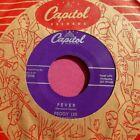 PEGGY LEE - Fever - super clean 45 rpm - Capitol 3998 photo