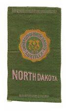 1910s S25 tobacco / cigarette / college silk University of North Dakota