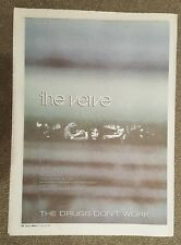 The verve drugs don't work 1997 press advert Full page 30 x 40 cm mini poster