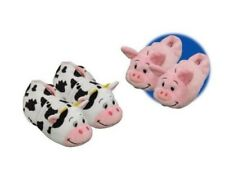 FLIPAZOO SLIPPERS PIG TRANSFORMING COW AS SEEN ON TV 2-IN 1 CHILD MED 12/13
