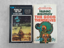 The Gods Themselves by Isaac Asimov & Pebble in the Sky - Vintage Paperbacks