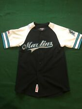 Miami Marlins Stiches Baseball Jersey Youth Small