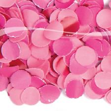 runde Party 100 gr Konfetti rosa Tisch Raum Deko Dekoration Themenparty Hochzeit