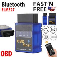 ELM327 OBD2 OBDII Bluetooth Auto Car V2.1 Diagnostic Interface Scanner Tools