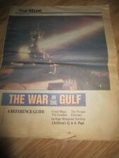 Post Tribune March 4, 1991 The War in the Gulf Reference Guide