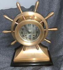 Chelsea Ship's Bell Clock mechanic (1920/24)