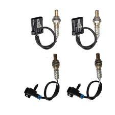 4pcs For GMC Sierra 1500 4.3 4.8 5.3L 99-02 Rear Front Oxygen Sensor Exc.Canada
