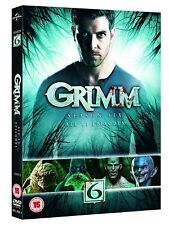 GRIMM COMPLETE SEASON SERIES 6, DVD R4 4 DISCS IN STOCK NOW!!  SIX