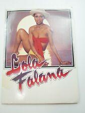 1974 Actress Lola Falana Press Photos, poster, Magazine, Business Card, Folder