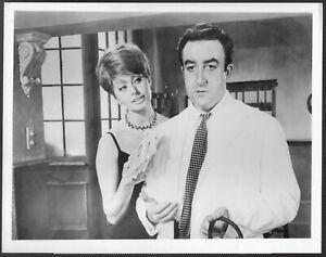 ~ Peter Sellers Sophia Loren Original 1970 CBS TV Promo Photo The Millionaress