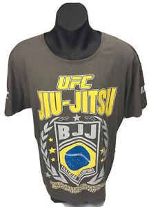 UFC JIU-JITSU BJJ Men's Olive T Shirt Size XL Tag UFC Ultimate Fighting Champshi
