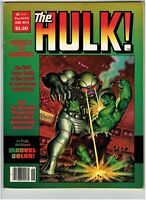 The Hulk #15 Magazine Moon Knight Story TV Show Coming Key Book 1979