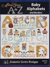 Cross Stitch Pattern Baby Alphabets Borders Baby Motifs