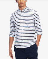 Tommy Hilfiger Men's Custom-Fit Stripe Shirt