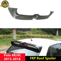 VW Polo Roof Spoiler Gloss Black Wing for Volkswagen 6R 6C 2013-2018 O Style