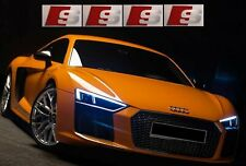 4x Audi S line Aufkleber Sticker 36 mm A4 S4 A6 S6 A1 S1 Sticker RS6 S8 A8 Q7 Q5