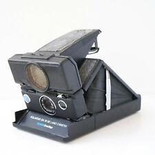 POLAROID SX-70 SE Sonar OneStep instant film land camera.