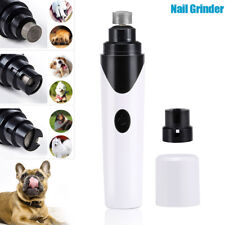 Useful Electric Pet Dog Nail Grinder Rechargeable Nails Trimmer Pets Nail Cutter