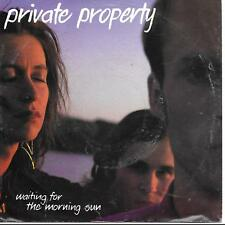 """Private Property Waiting For The Morning Sun German 45 7"""" sgl +Pic Slv Germany"""