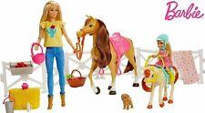 Barbie Hugs N Horses Playset