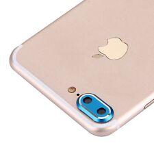 Protección Cámara para Apple iPhone 7 Plus Anillo De Protector Azul