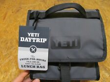 YETI Daytrip Lunch Bag Charcoal Color ( LOT 14715)