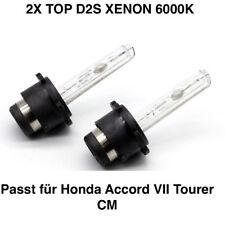 2x Neu D2S 6000K 35w Xenon Ersatz Brenner Honda Accord VII Tourer CM
