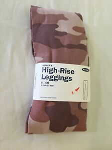 NWT Old Navy Women's Camo Pink High Rise Jersey Leggings Pants