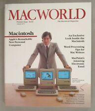 Macworld Magazine #1 - February, 1984 ~~ Steve Jobs / Apple Computer