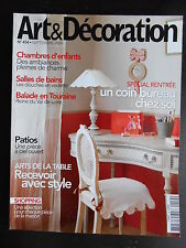 """Art & décoration"" n°454 septembre 2009"