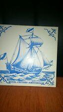 BOTEL CRUISES-AMSTERDAM BLUE/WHITE TILE