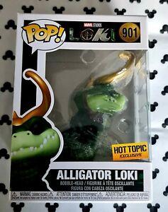 Funko Pop Disney Marvel Loki 901 Alligator Loki Hot Topic Avengers Vinyl Figure