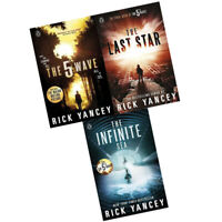 Rick Yancey The 5th Wave Series 3 Books Collection The Last Star, Infinite Sea