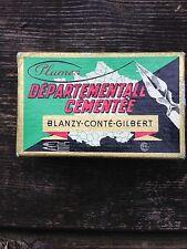 Boite de plumes scellée départementale cémentée N°2552 Gilbert & Blanzy - Poure