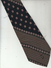 Vintage Tie-Yves Saint Laurent YSL-Authentic-100% Silk-Made Italy-V35-Men's Tie